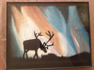 Alyx Michele, Moose, 2010, Soft pastel