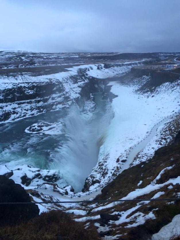 golden circle gulfoss waterfall